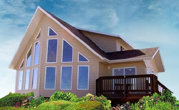 Prefab homes and modular homes in canada star package sales for Modular garage canada