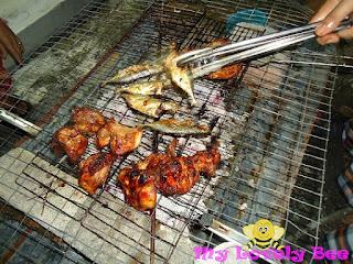 barbeque ayam dan ikan