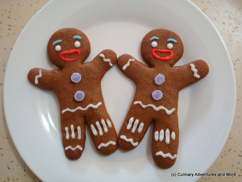 Culinary adventures and more baking adventure gingy gingerbread cookies from shrek - Biscuit shrek ...