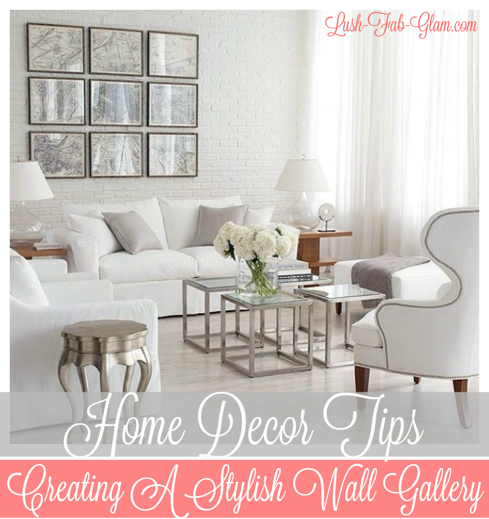 Fabulous Home Decor Ideas To Try Now: DIY Your own wall gallery.