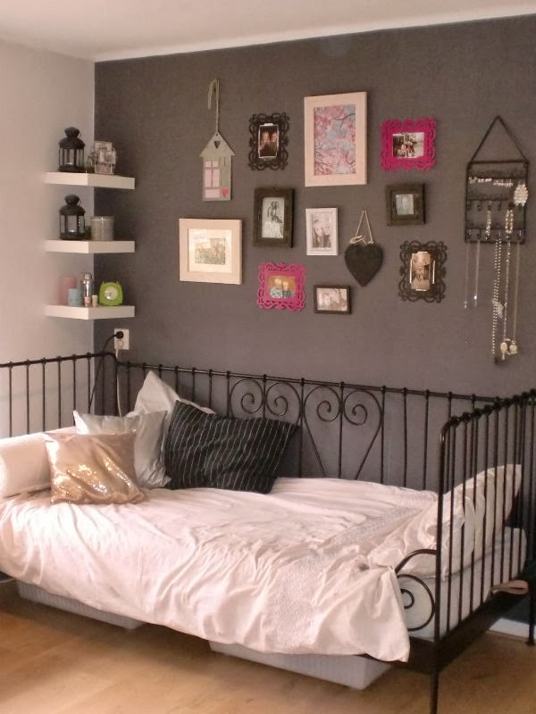 Nice girls stuff kamer pimpen for Bed in muur