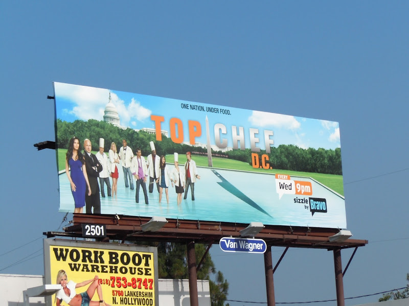Top Chef DC season 7 billboard