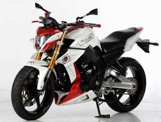 Foto Modifikasi Motor Yamaha Byson