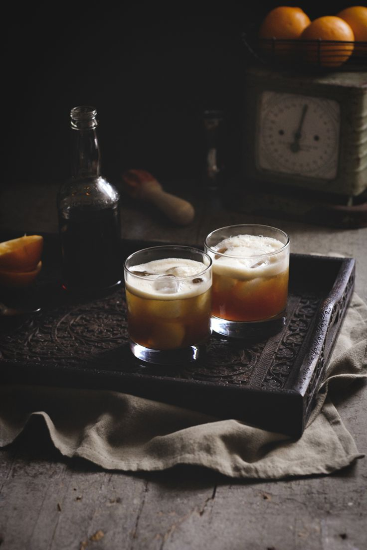Burnt Whiskey Sour