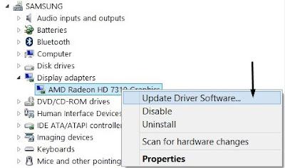 Cara Update VGA Secara Manual
