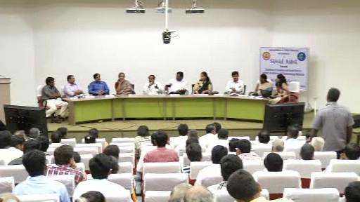 Sansad Ratna Awards 2013 - Panel discussion in Tamil on politics, democracy and governance