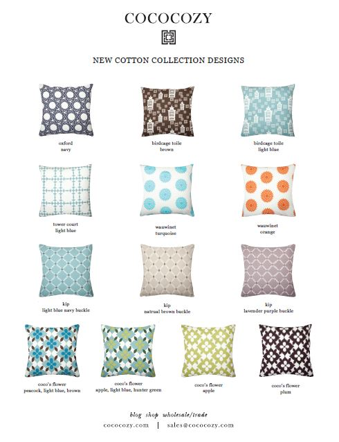 The COCOCOZY Cotton Collection