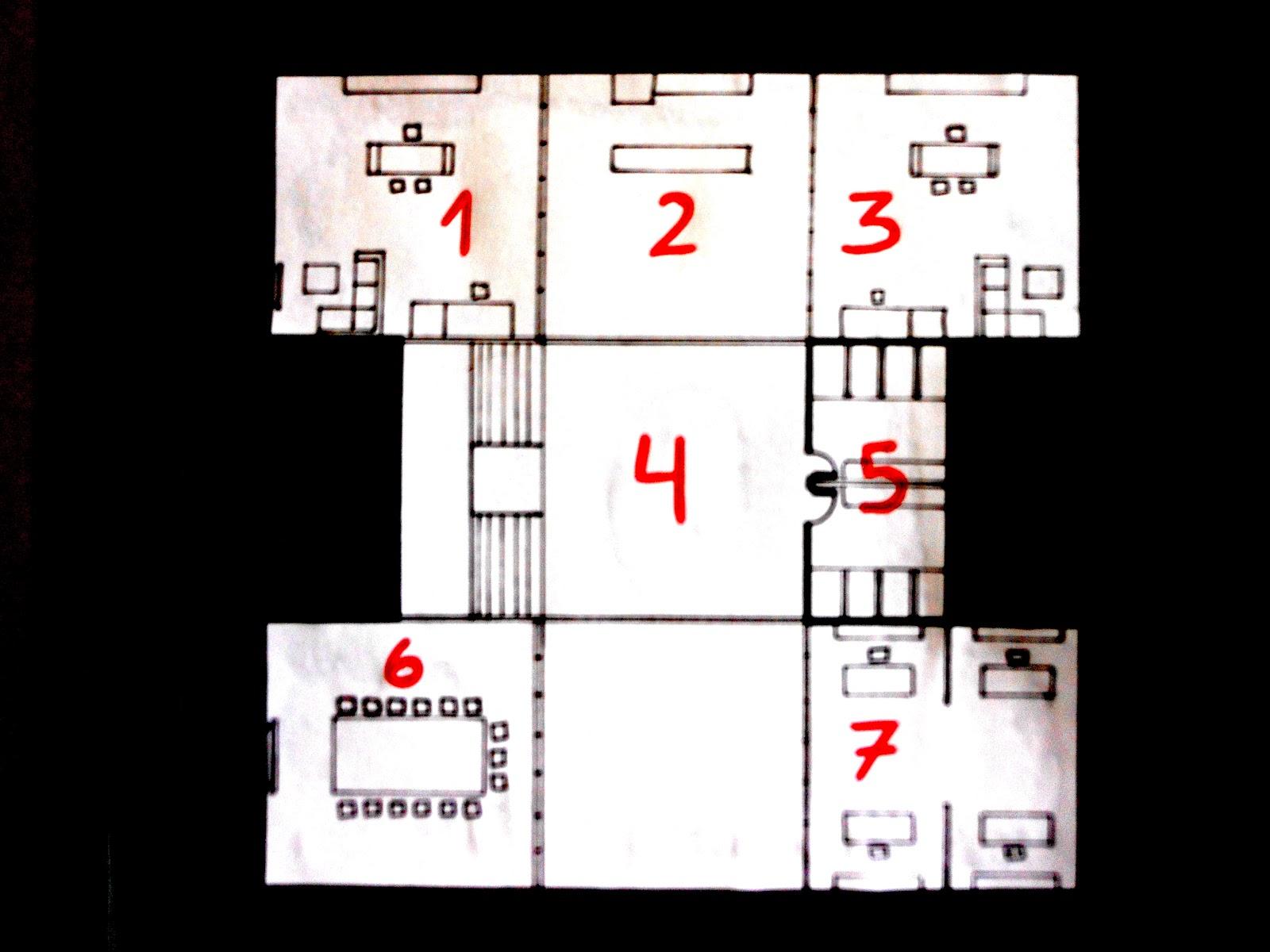 Casa m kazuyo sejima planos y distribuci n del estudio for Oficinas administrativas planos