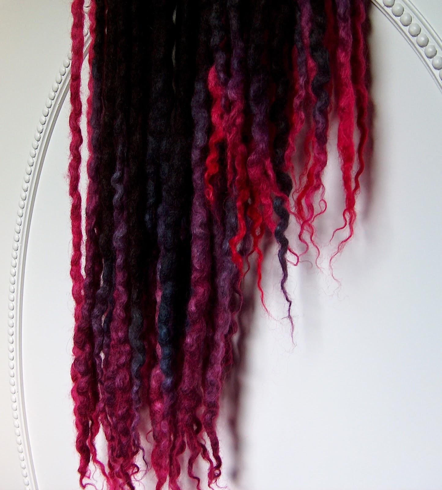 Hair Extensions Cyberlox Dreadfalls Fringe Synthetic Hair