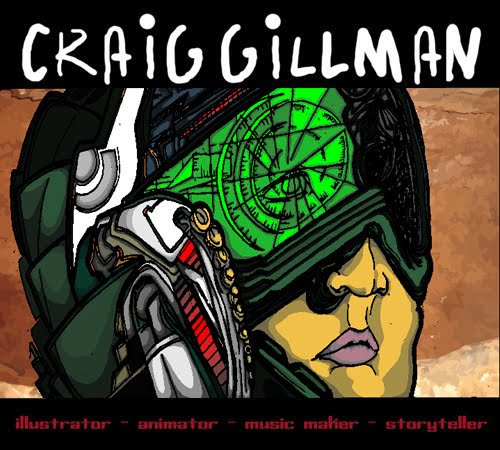 Craig Gillman Illustration Blog