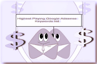 Highest Paying Google AdSense Keywords