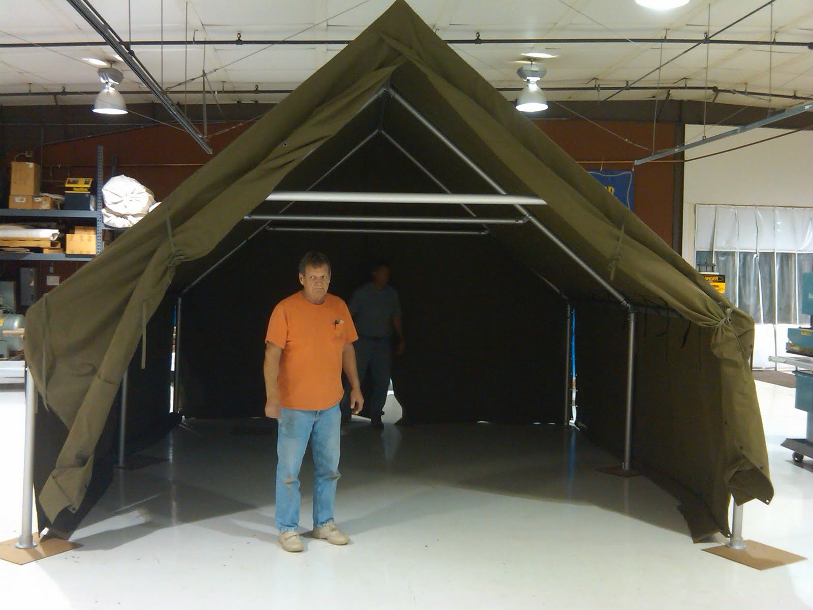 Custom WWII Tents for Vendors & Custom WWII Tents for Vendors | Armbruster Tent Maker
