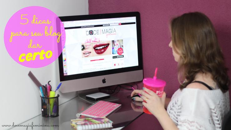 blogueira iniciante