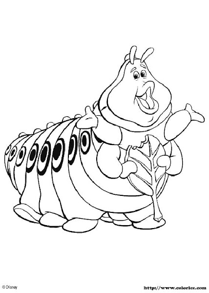 Bug's Life Coloring Pages