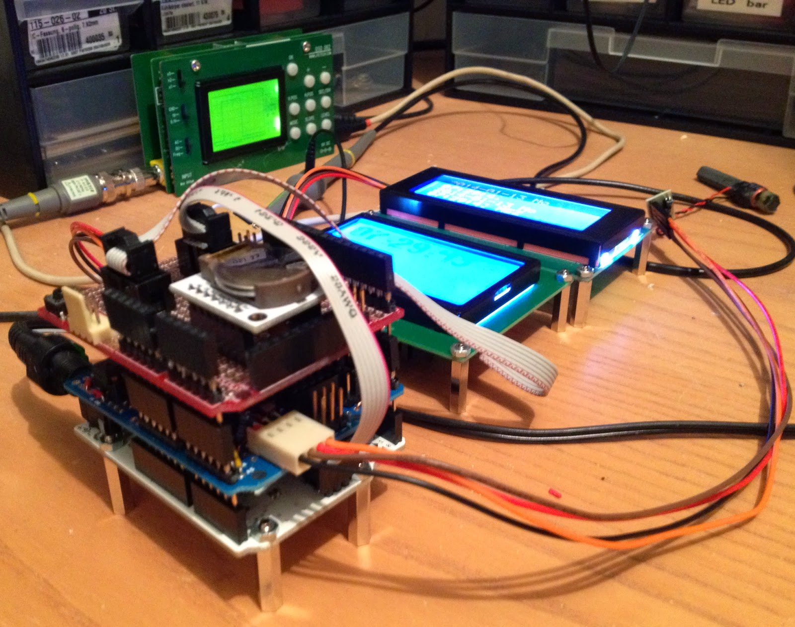 thd arduino projekte arduino dcf77 mit glcd 128x64 display. Black Bedroom Furniture Sets. Home Design Ideas
