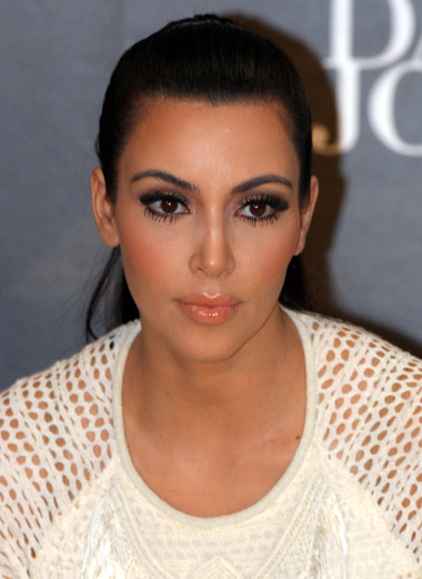 Kim kardashian will be gracing the pages of haute muse next month