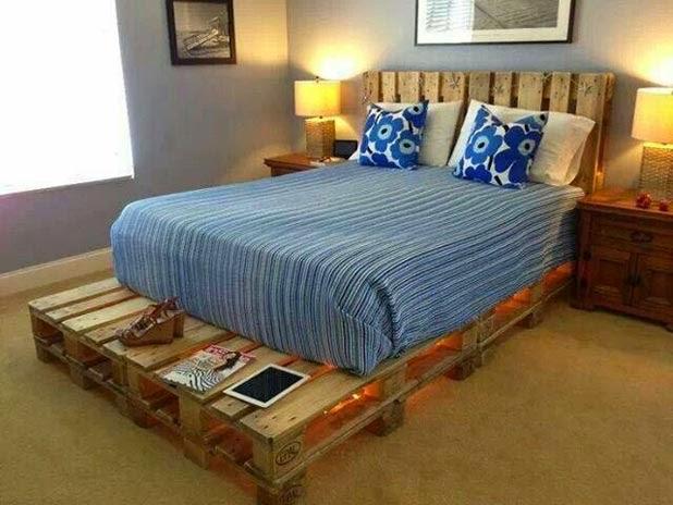Realizzare un letto con i bancali