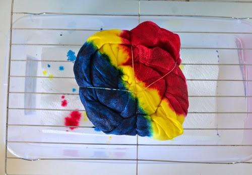 iLoveToCreate Blog: Tie Dye with a Twist