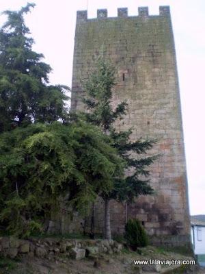 Torre Homenaje Castillo Lamego, Portugal