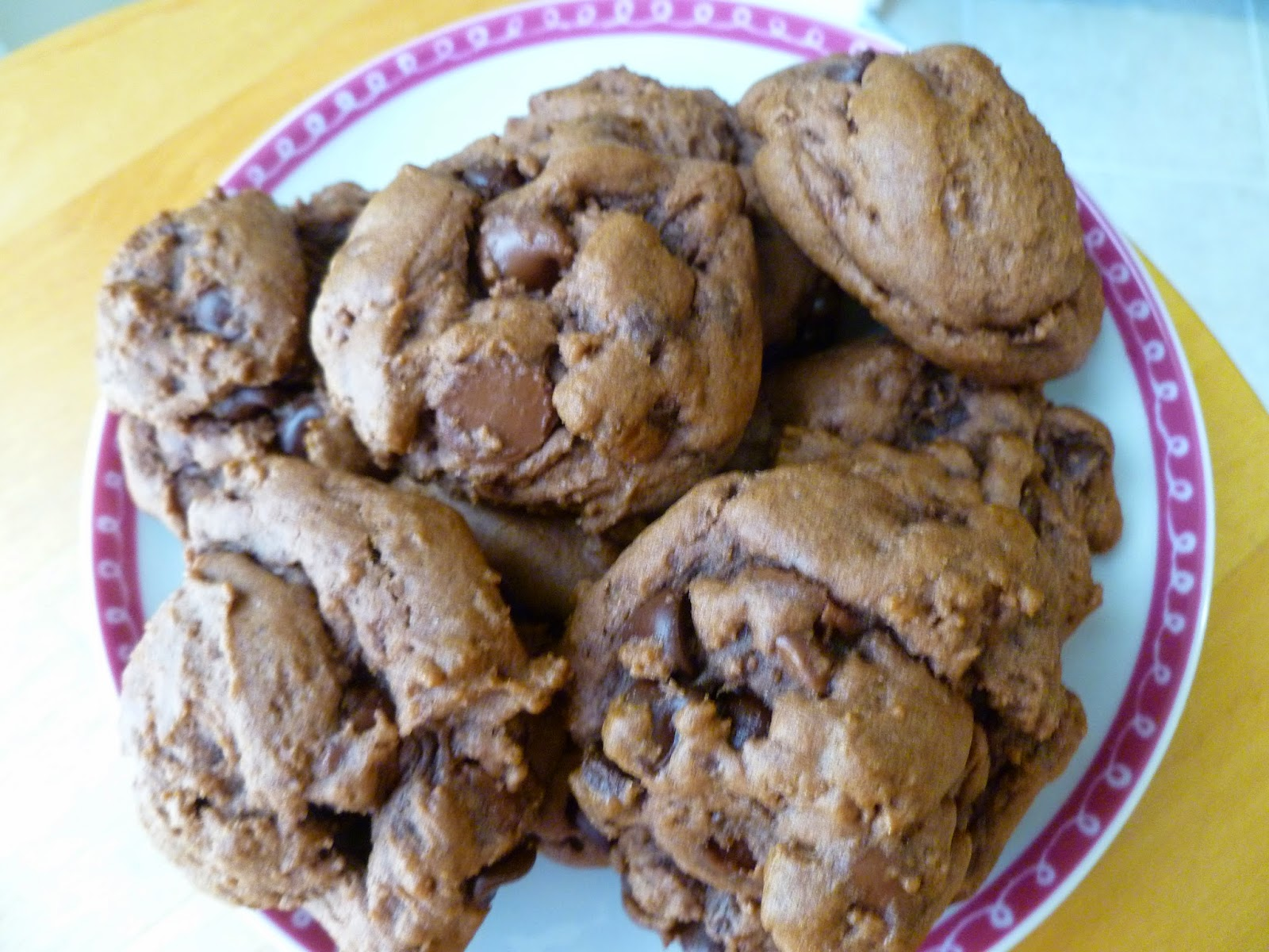 The Pastry Chef's Baking: Double Chocolate Chip Pudding Cookies