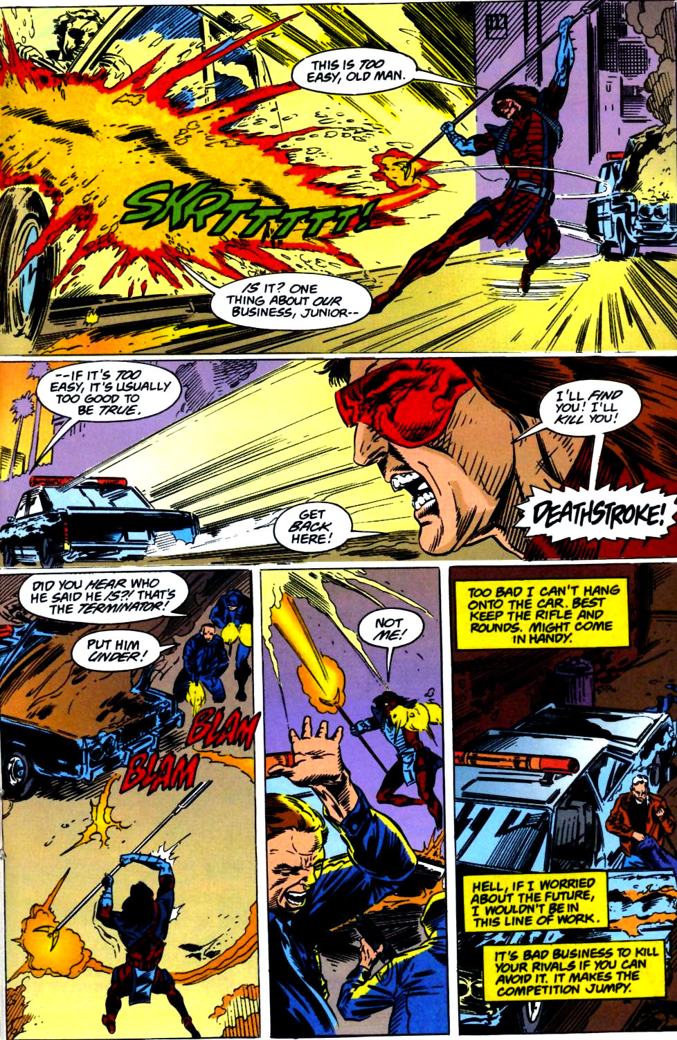 Deathstroke (1991) Issue #23 #28 - English 12