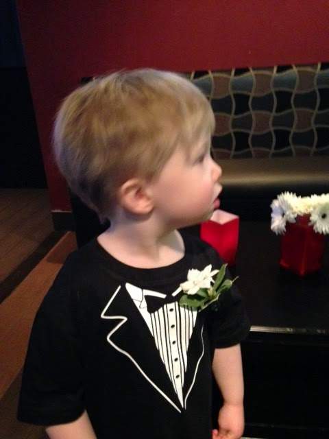 tuxedo t-shirt ring bearer