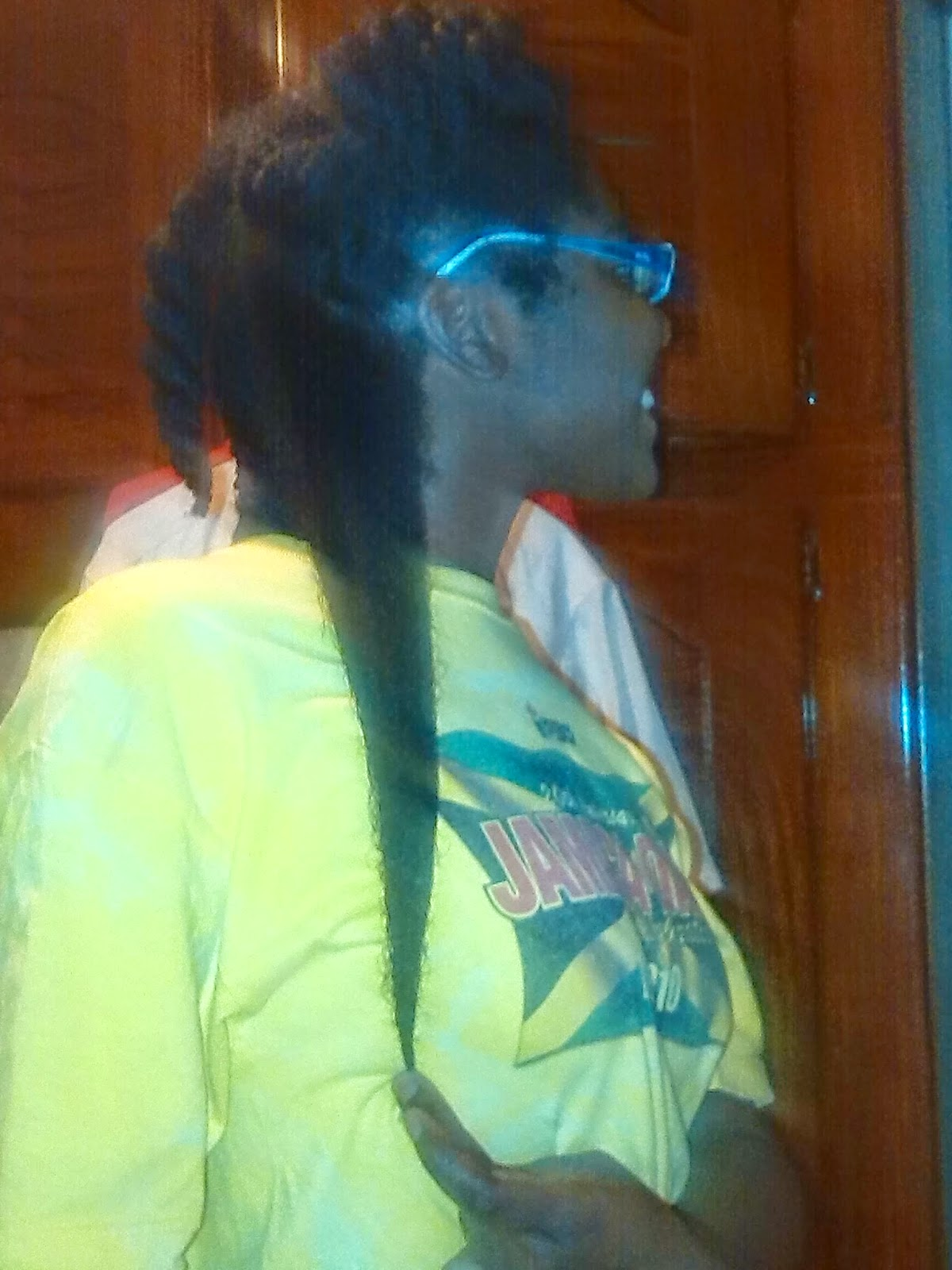 natural hair, long natural hair, afro hair, afro puff, jamaican naturals, caribbean naturals, waist length natural hair, Kreamy Kurls, natural hair blogger, long black hair,natural hair journey, long term transitioner, transitioning hair