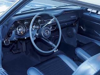 Greyson Chance 1966 Mustang Moses Interior View