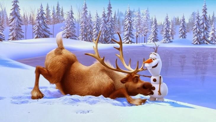 Filme Frozen  Blog Leituras da Paty