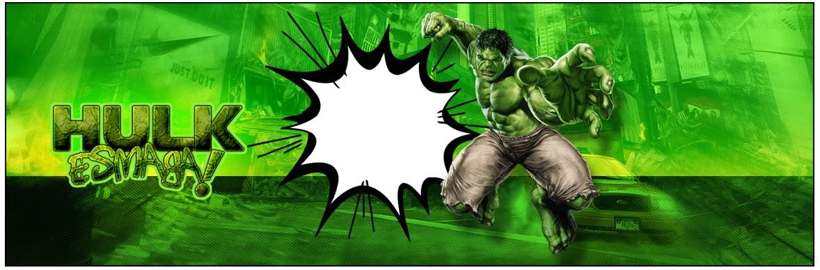 Hulk Eitquetas Para Candy Bar Para Imprimir Gratis