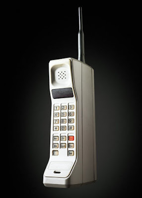 first cell phone, the brick, zack morris phone, big, heavy
