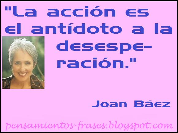 frases de Joan Báez