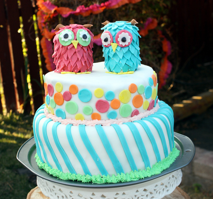 Birthday Cake Ideas And Pictures : Amazing Owl Birthday Party   Bless this mess