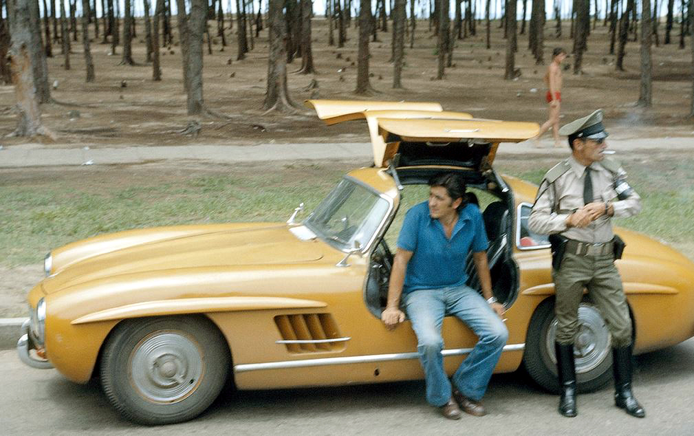 just a car guy a gullwing mercedes found in cuba severely rusted