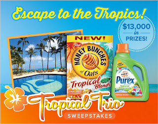 Tropical Trio Sweepstakes