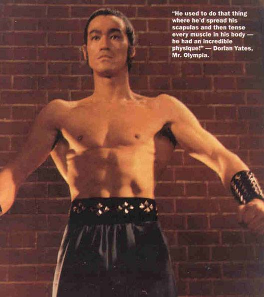 Bruce Lee workout ~ How to build muscles
