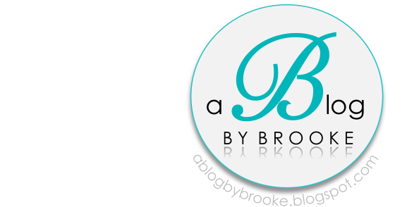 a blog - By Brooke