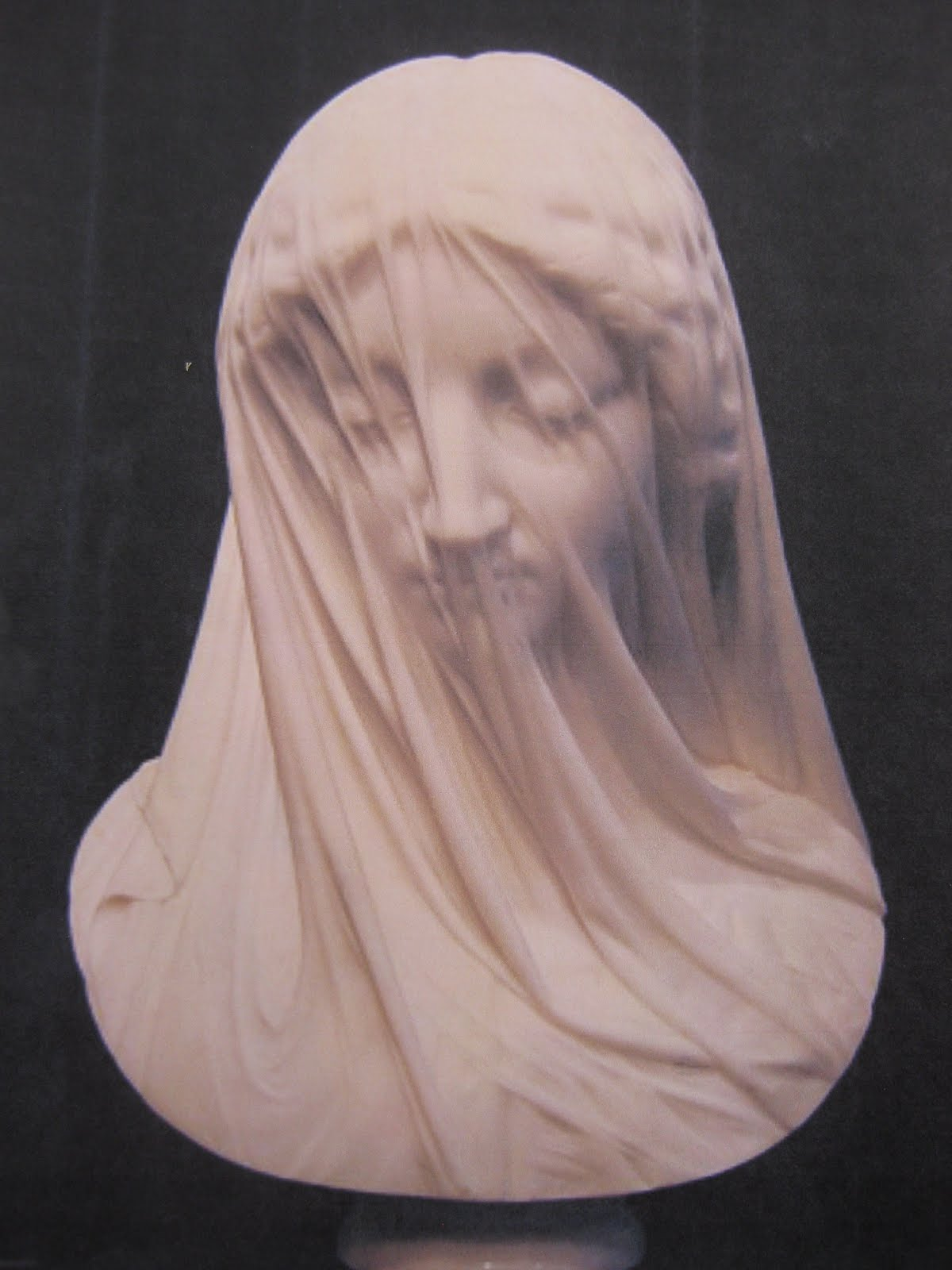 ERB's Woodcarving Blog: Day I Geislor Trip Veiled Lady in Wood