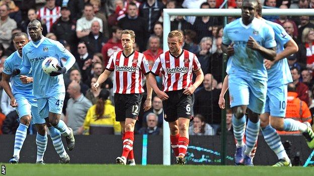 Manchester City 3-0 Sunderland