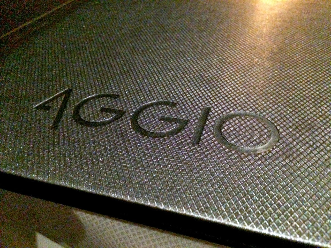 Aggio restaurant review