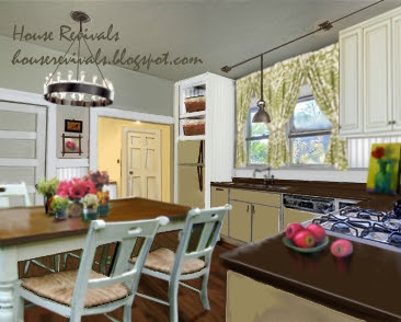 House Revivals: Bungalow Kitchen Budget Makeover