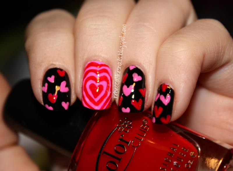 rebecca likes nails: valentine's series - love spell