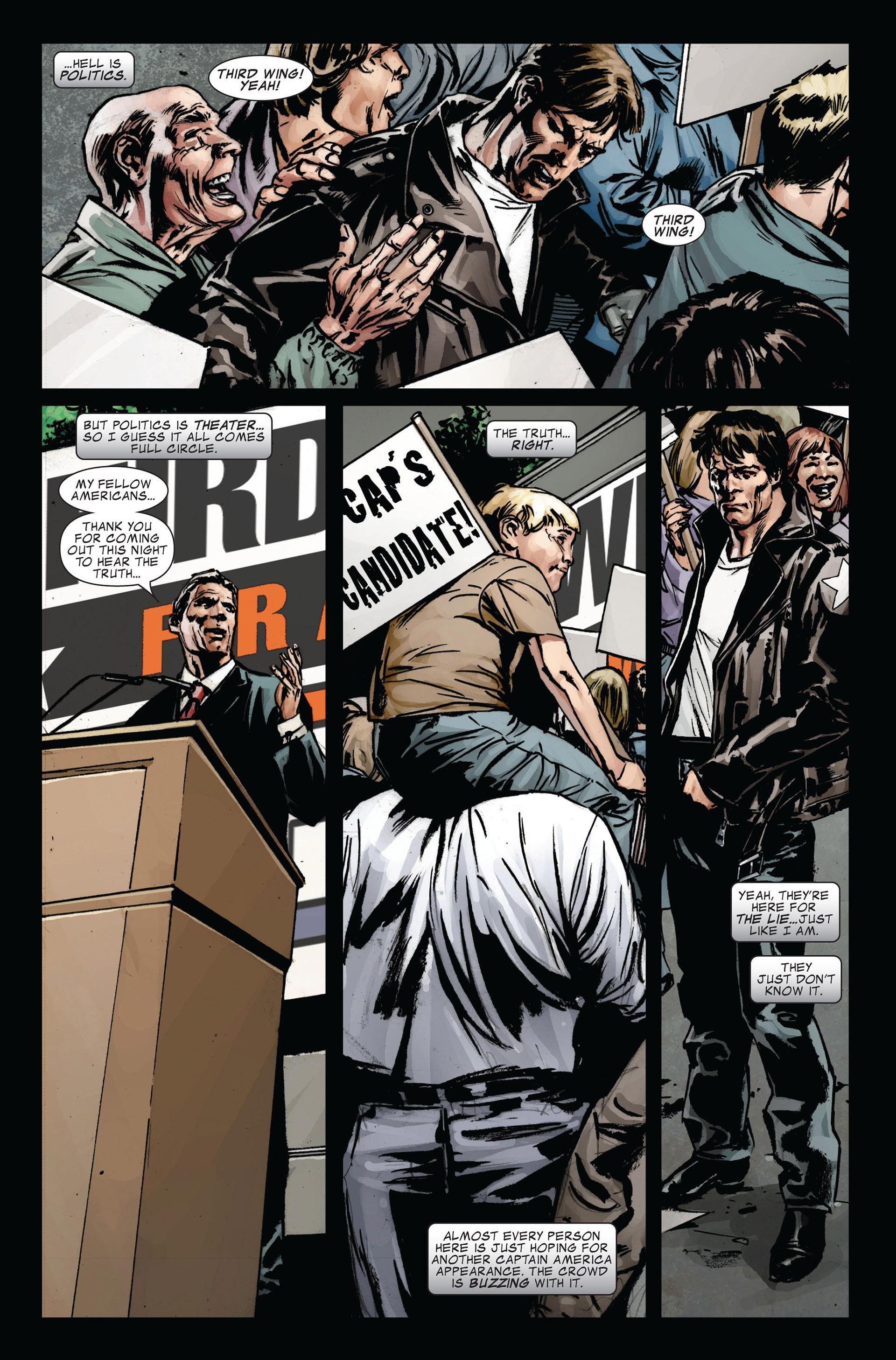 Captain America (2005) Issue #39 #39 - English 16