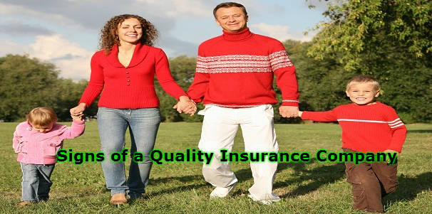 Signs of a Quality Insurance Company