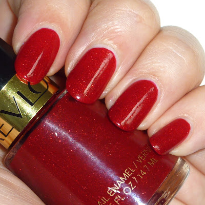 Revlon Dripping rubies nail polish swatch