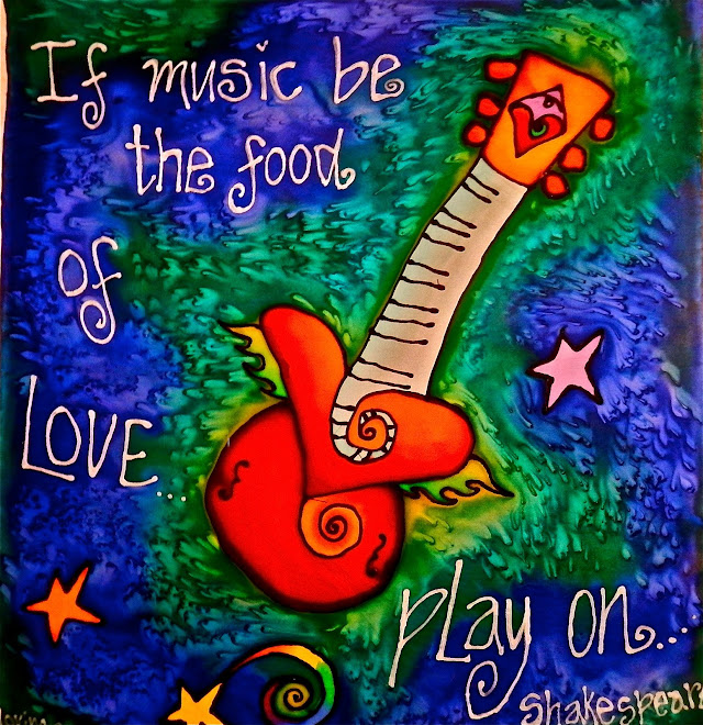 Music fuels my mind and rocks my soul.