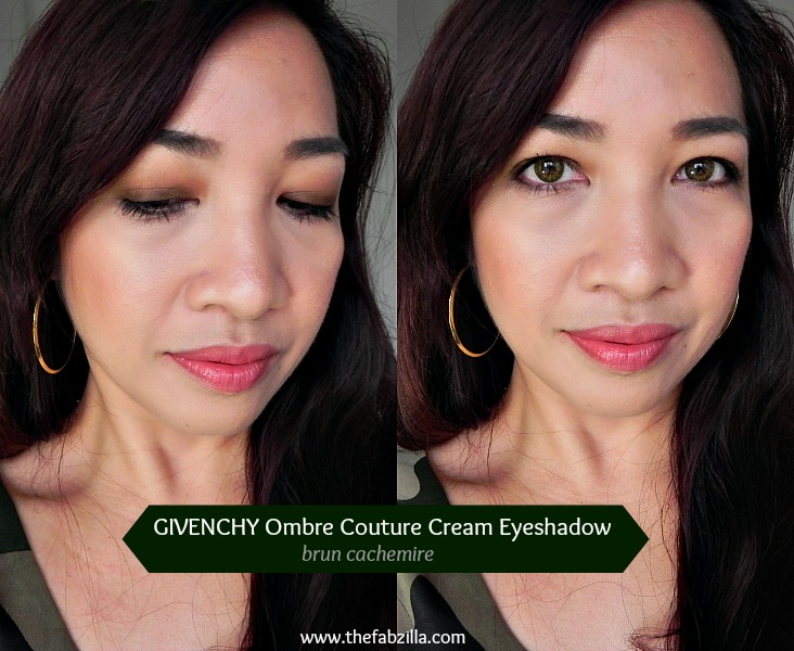 review, swatch, givenchy ombre couture cream eyeshadow
