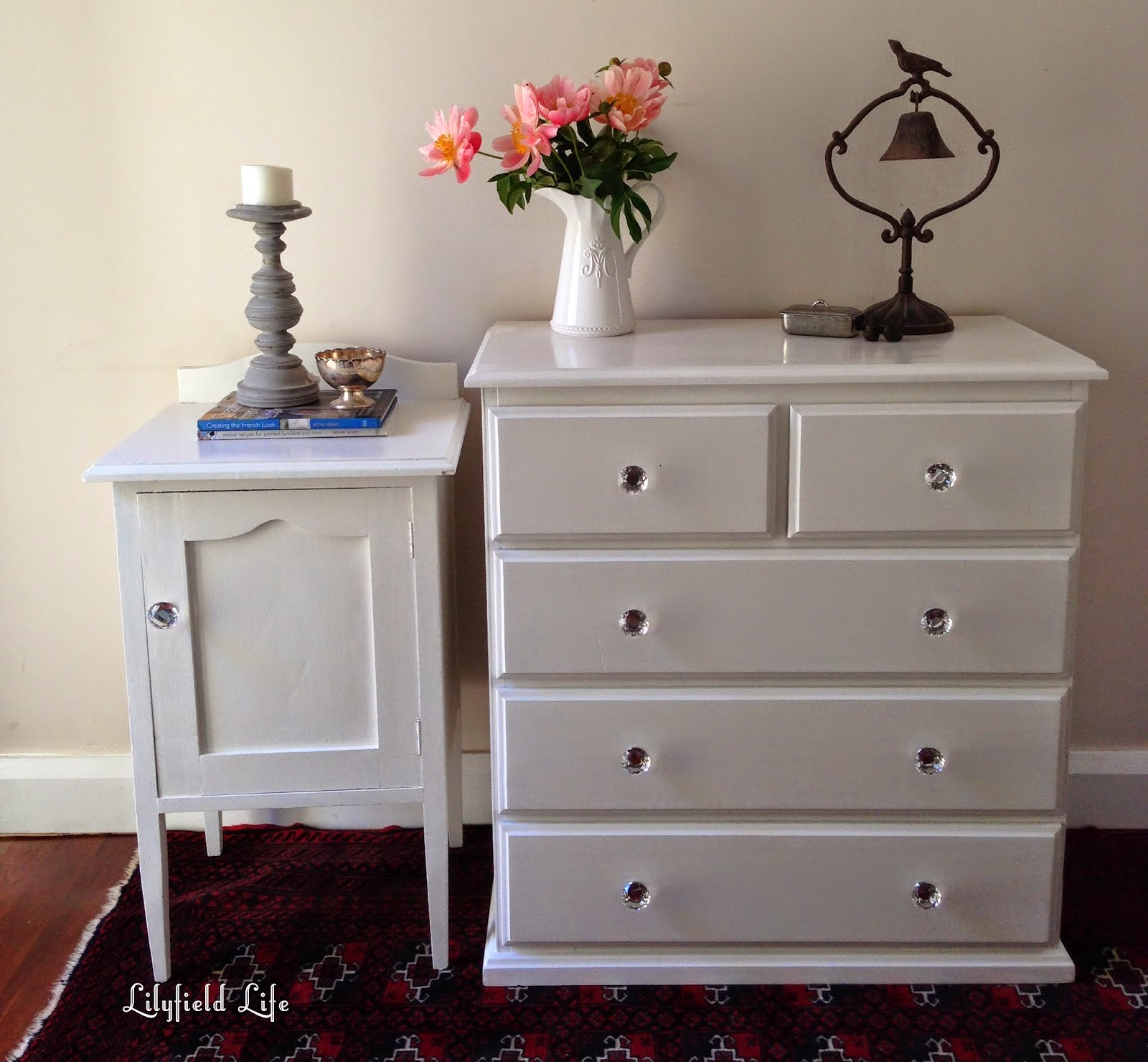 White Painted furniture by Lilyfield Life