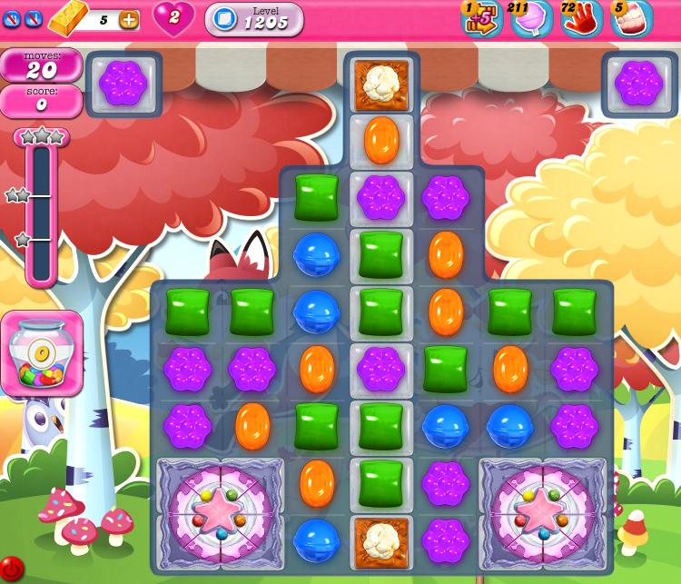 Candy Crush Saga 1205