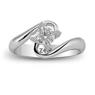 Zen Diamond Tek taş Pırlanta Yüzük